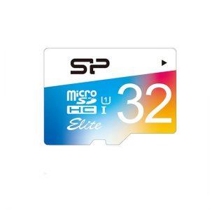 کارت حافظه microSDXC سیلیکون پاور مدل Color Elite ظرفیت 32 گیگابایت