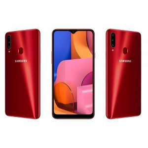 گوشی سامسونگ مدل Galaxy A20s با ظرفیت ۳۲ رم 3 گیگابایت