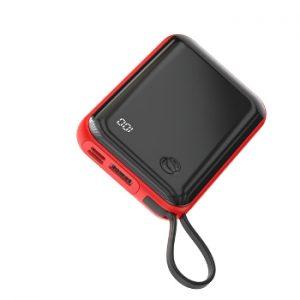 پاوربانک بیسوس مدل  Mini S Digital Display 3A با ظرفيت 10000 ميلی آمپر ساعت