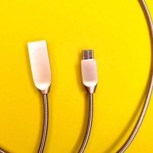 کابل شارژ فنری شیگو اندروید ساده درجه یک