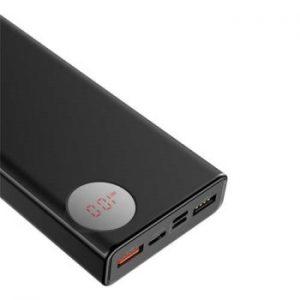 پاور بانک بیسوس مدل  Mulight PD3.0 Quick Charge با ظرفیت 20000 میلی امپر