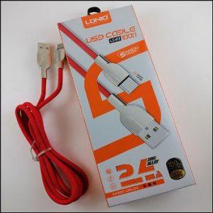 کابل تبدیل USB به USB_C الدینیو مدل LS411  طول 1 متر