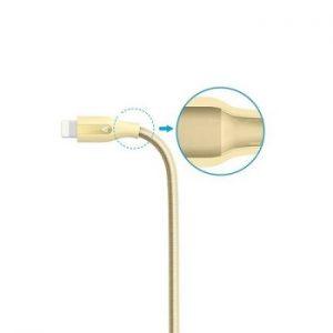 کابل تبدیل USB به لایتنینگ ANKER مدل A8121 PowerLine Plus طول 90 سانتی متر